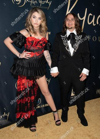 Stock Image of Paris Jackson and Michael Joseph Jackson Jr attend the Ryan Gordy Foundation 60 Years of Motown Celebration at the Waldorf Astoria in Beverly Hills