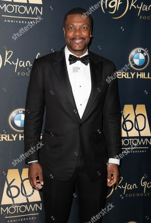 Chris Tucker attends the Ryan Gordy Foundation 60 Years of Motown Celebration at the Waldorf Astoria in Beverly Hills