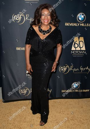 Mary Wilson attends the Ryan Gordy Foundation 60 Years of Motown Celebration at the Waldorf Astoria in Beverly Hills