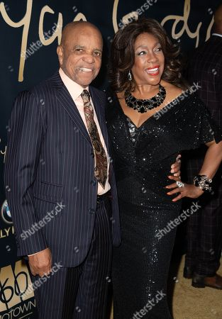 Berry Gordy and Mary Wilson attend the Ryan Gordy Foundation 60 Years of Motown Celebration at the Waldorf Astoria in Beverly Hills