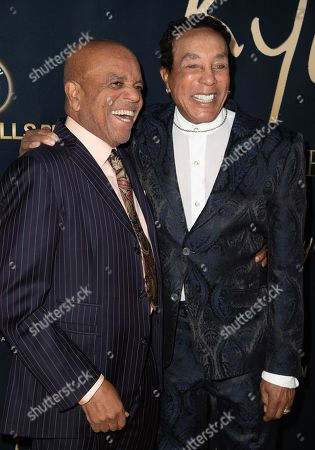 Berry Gordy and Smokey Robinson attend the Ryan Gordy Foundation 60 Years of Motown Celebration at the Waldorf Astoria in Beverly Hills