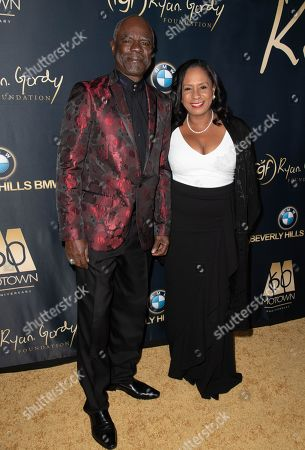 Glynn Turman and Jo-Ann Allen attend the Ryan Gordy Foundation 60 Years of Motown Celebration at the Waldorf Astoria in Beverly Hills