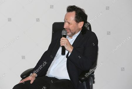 "Barry Avrich seen at a screening and Q&A of ""Prosecuting Evil"" at the Ross House, in Los Angeles"