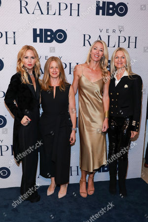 "Stock Image of Rachel Zoe, Jessica Levin, Elaine Irwin, Crystal Lourd. Rachel Zoe, on left, Jessica Levin, Elaine Irwin, Crystal Lourd attend the HBO premiere of ""Very Ralph"" at the Paley Center for Media on in Beverly Hills, Calif"
