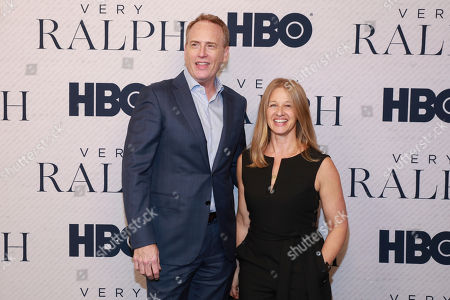 "Robert Greenblatt, Jessica Levin. Robert Greenblatt and Jessica Levin attend the HBO premiere of ""Very Ralph"" at the Paley Center for Media on in Beverly Hills, Calif"