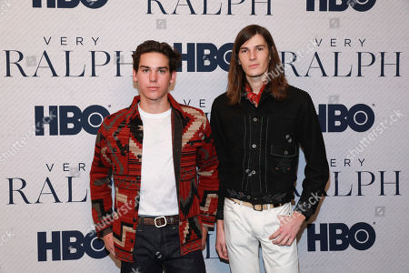 """Stock Picture of Paris Brosnan, Dylan Brosnan. Paris Brosnan and Dylan Brosnan attends the HBO premiere of """"Very Ralph"""" at the Paley Center for Media on in Beverly Hills, Calif"""