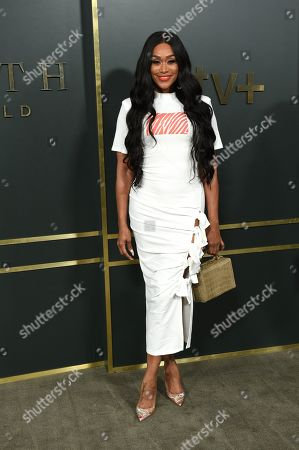 Editorial picture of 'Truth Be Told' TV show premiere, Arrivals, Samuel Goldwyn Theater, Los Angeles, USA - 11 Nov 2019
