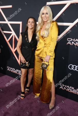 Alexandra Raisman and Lindsey Vonn