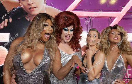 Peppermint, Nina West, Elizabeth Banks and Farrah Moan