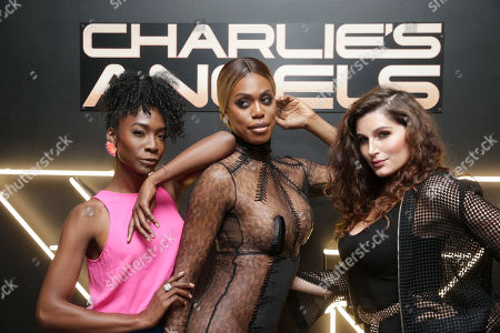 Angelica Ross, Laverne Cox and Trace Lysette