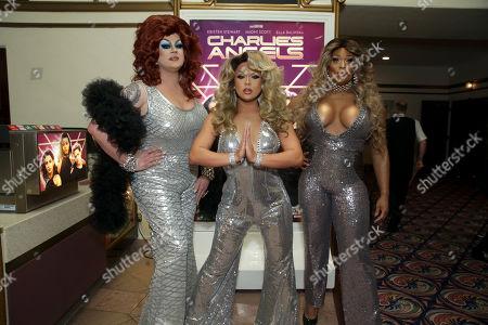 Nina West, Farrah Moan and Peppermint