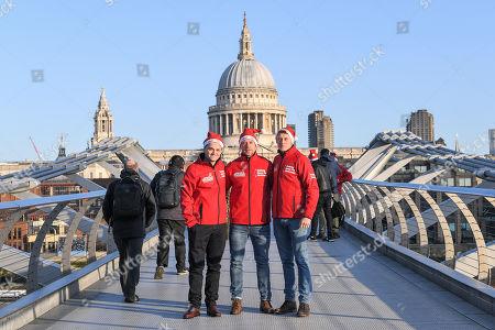 Dean-Charles Chapman, Wayne Bridge and George MacKay