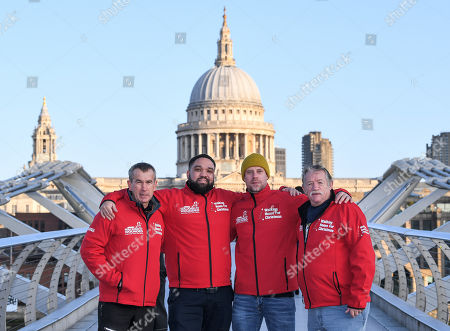 Editorial picture of '1917' Walking with the Wounded photocall, London, UK - 12 Nov 2019