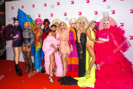 Editorial picture of 'Queen of Drags' TV show presentation, Zoo Palast, Berlin, Germany - 11 Nov 2019