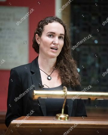 Editorial picture of Megan Phelps-Roper at the Oxford Union, UK - 11 Nov 2019
