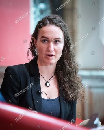 Editorial photo of Megan Phelps-Roper at the Oxford Union, UK - 11 Nov 2019