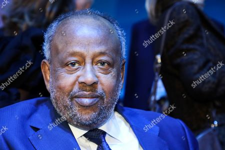 Djibouti's President Ismail Omar Guelleh attends the plenary session at the start of the Paris Peace Forum, in Paris, France, 12 November 2019. The international event on global governance issues and multilateralism takes place on 12 to 13 November in Paris.