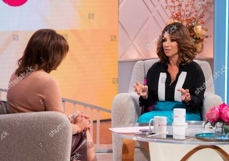 Lorraine Kelly and Jacqueline Gold
