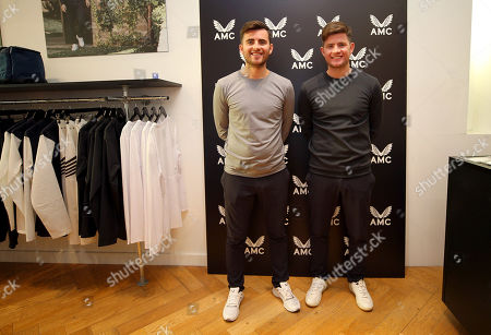 Castore Owners Philip and Tom Beahon in the Castore store on the King's Road, London