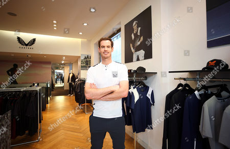 Editorial picture of Andy Murray x Castore brand launch, Tennis, Chelsea, London, UK - 12 Nov 2019