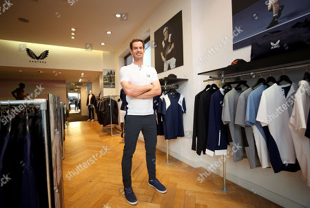 Editorial photo of Andy Murray x Castore brand launch, Tennis, Chelsea, London, UK - 12 Nov 2019
