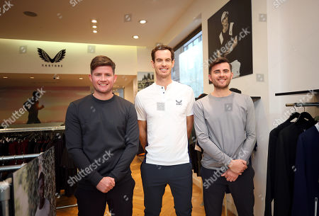 Editorial image of Andy Murray x Castore brand launch, Tennis, Chelsea, London, UK - 12 Nov 2019