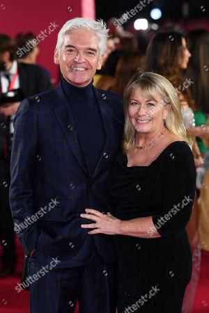 Phillip Schofield and Stephanie Lowe