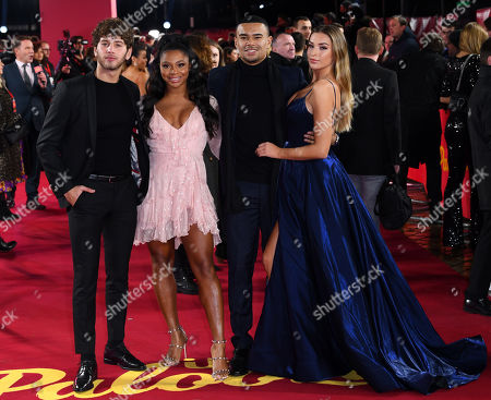 Eyal Booker, Samira Mighty, Wes Nelson and Zara McDermott