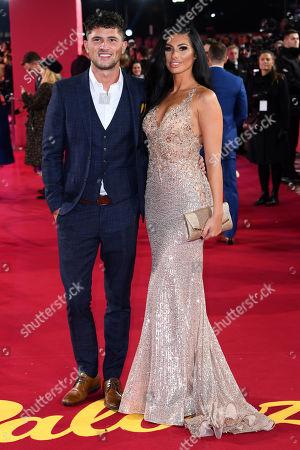 Jordan Davies and Isobel Mills