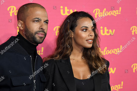 Stock Picture of Marvin Humes and Rochelle Humes