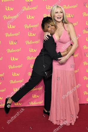 Trisha Goddard and Caprice Bourret