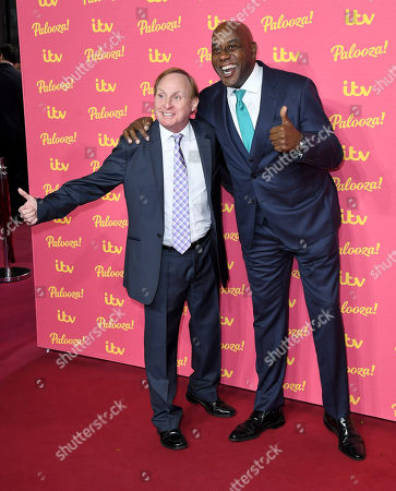 Ainsley Harriott (R) and guest
