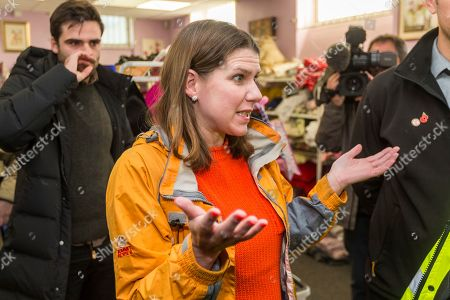 Liberal Democrat leader Jo Swinson is visiting Stainforth in Yorkshire today to meet people affected by recent flooding. Jo is meeting the organisers of the charity Stainforth4All & helping to sort clothing.