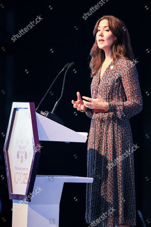 Danish Crown Princess Mary holds a speech during the official opening of the Nairobi Summit on International Conference on Population and Development (ICPD25), in Nairobi, Kenya, 12 November 2019. The summit will take place from 12 to 14 November.