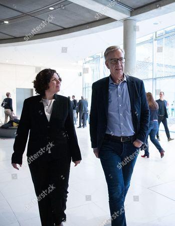 Editorial image of German The Left (Die Linke), Berlin, Germany - 12 Nov 2019