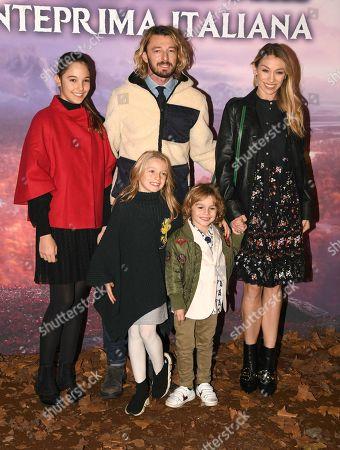 Eleonora Abbagnato, Federico Balzaretti and their children
