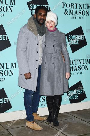 Rhashan Stone and Olivia Williams