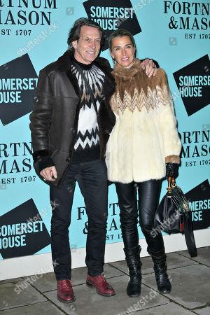 Stephen Webster and Assia Webster