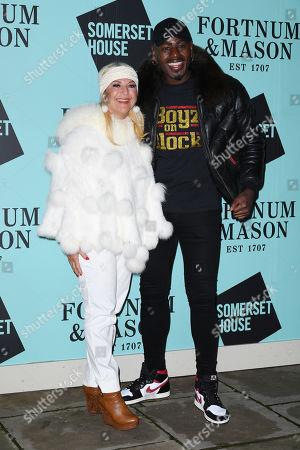 Vanessa Feltz and Ben Ofoedu