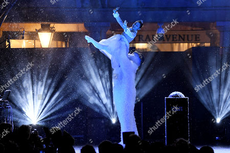 Editorial image of Covent Garden Christmas lights switch on, London, UK - 12 Nov 2019