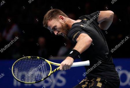 Editorial image of Tennis ATP Finals, London, United Kingdom - 12 Nov 2019