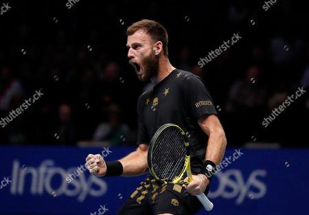 Editorial picture of Tennis ATP Finals, London, United Kingdom - 12 Nov 2019