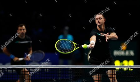 Editorial picture of Tennis ATP Finals, London, United Kingdom - 12 Nov 2019