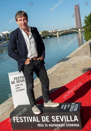 Antonio de la Torre poses for the photographer during the presentation of the film 'El Plan' (The Plan) as part of Sevilla Film Festival, in Seville, southern Spain, 12 November 2019. The Festival de Sevilla runs from 08 to 16 November.