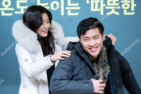 Jun Ji-hyun, a soldier who saved a woman in trouble