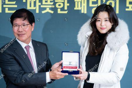 Lee Sun-ho (NEPA CEO), Jun Ji-hyun