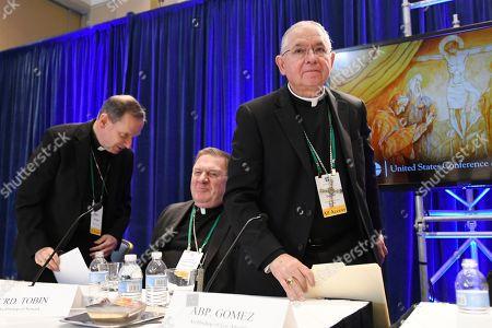 Editorial photo of Catholic Bishops, Baltimore, USA - 12 Nov 2019