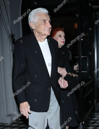 Editorial image of Tom Troupe and Carole Cook out and about, Los Angeles, USA - 11 Nov 2019