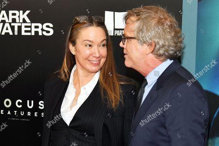 Elizabeth Marvel and Todd Haynes