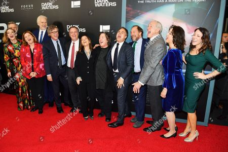 Bill Pullman, Louisa Krause, Mare Winningham, Tim Robbins, Todd Haynes, Robert Bilott, Pamela Koffler, Christine Vachon, Mark Ruffalo, Bill Camp, Victor Garner and guests